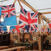 Period Industrial lighting for Goodwood Revival event