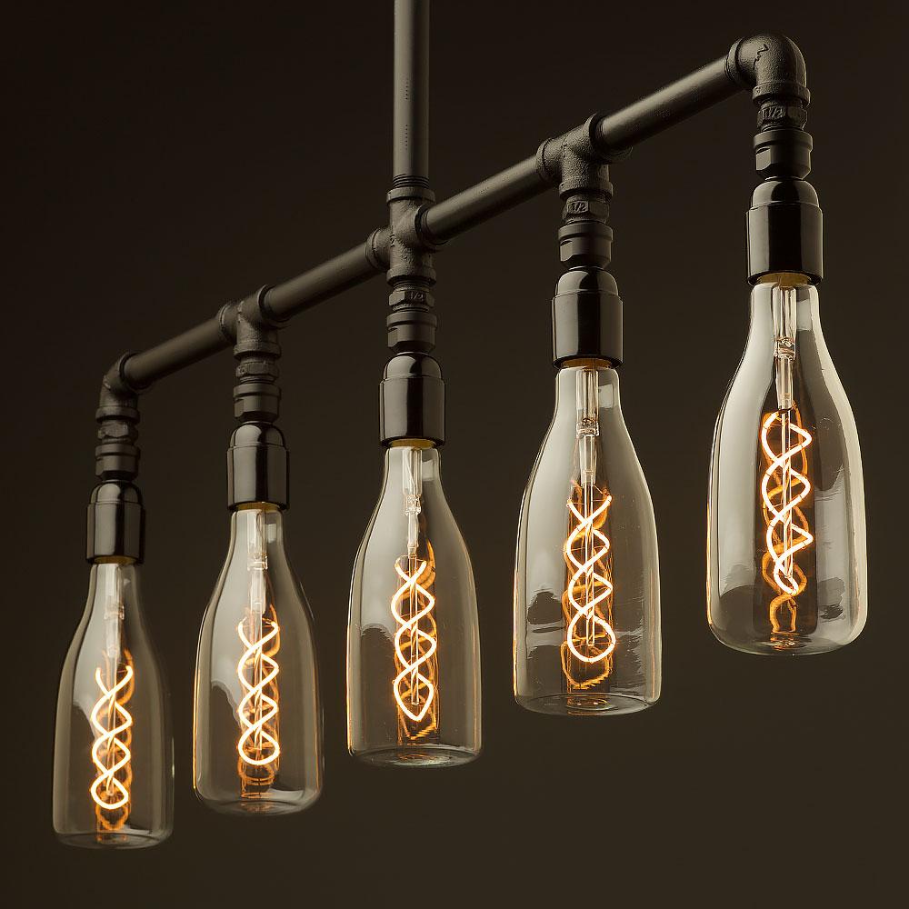 Hanging Light Bulb Fittings