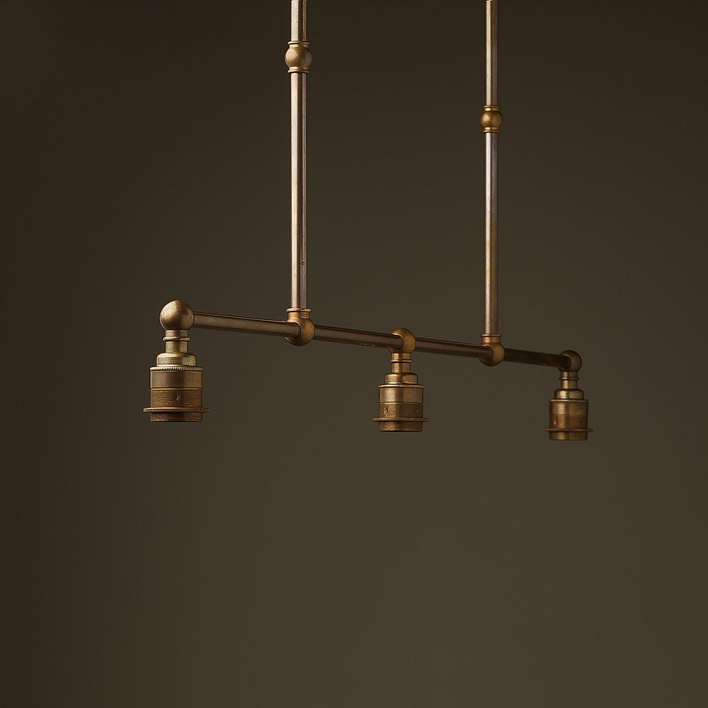 Vintage Pool Table Light Ebay: Antique Brass Edison Billiard Table Light