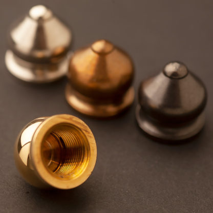Brass-finial