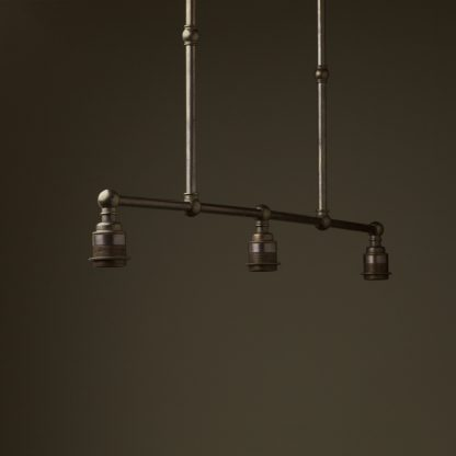 Bronze Edison Billiard Table Light