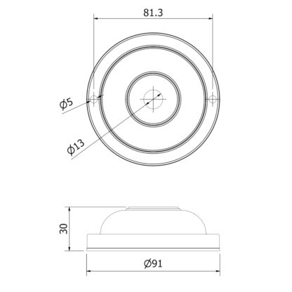 90mm Wall Plate Dimensions