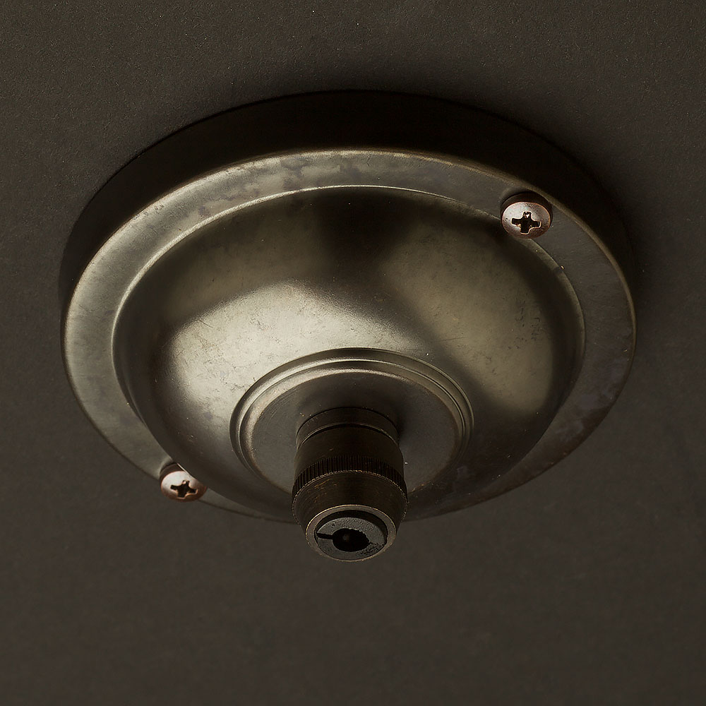 Bronze Cord Grip ceiling rose 90mm