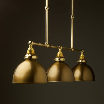 New Brass Edison Billiard Table Light