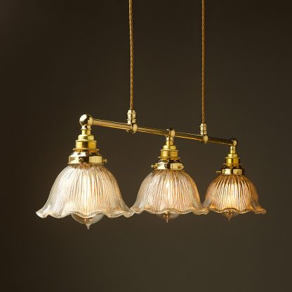 New Brass Edison Billiards Table Pendant