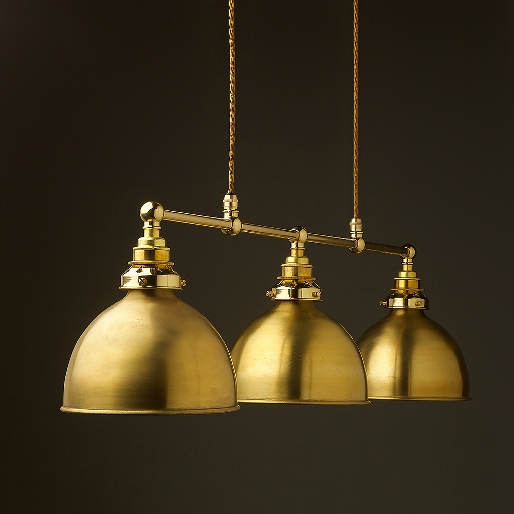 New brass edison billiard table pendant new brass edison billiards table pendant aloadofball Image collections