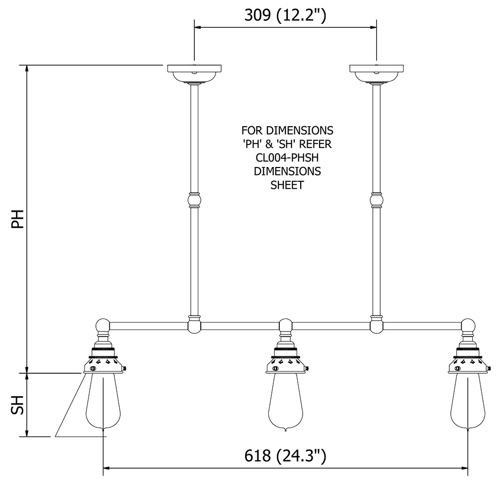 Dimensions For Pool Table Light