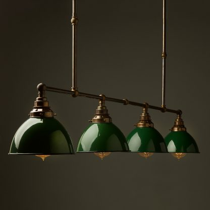 Vintage Edison Long Billiard Table Light