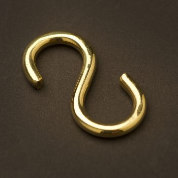 Brass S Hook 50mm