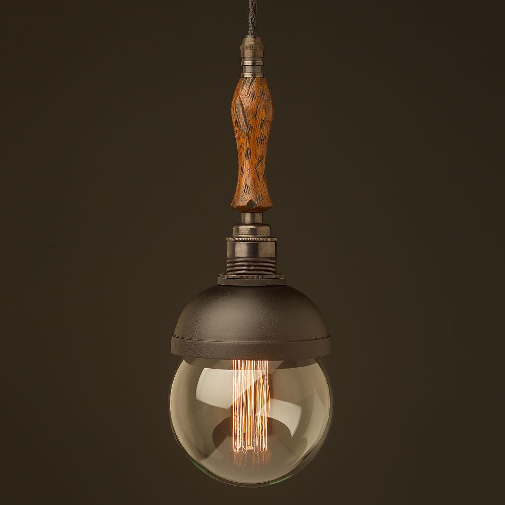 Pendant Lighting Black Shade : Trouble light shade pendant