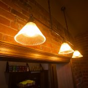 Sawyers Arms Tavern bar lighting reviving historic hotel restaurant