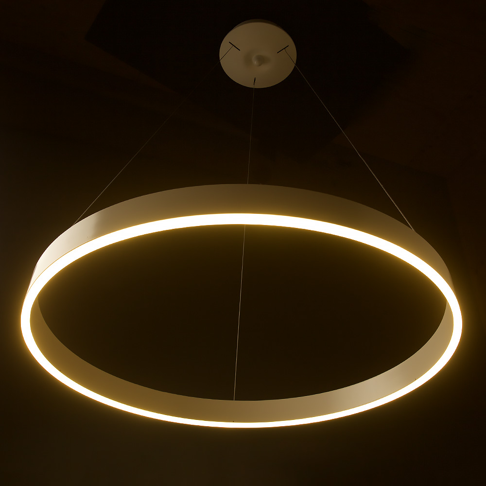 Led Pendant Shop Lights: LED Circle Pendant 800mm • Edison Light Globes Pty Ltd