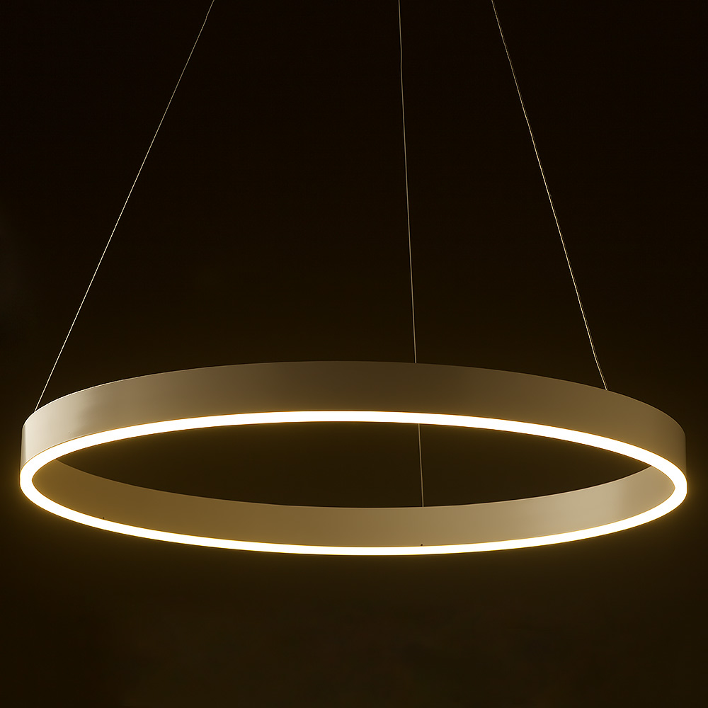 Led Circle Pendant 800mm Edison Light Globes Pty Ltd