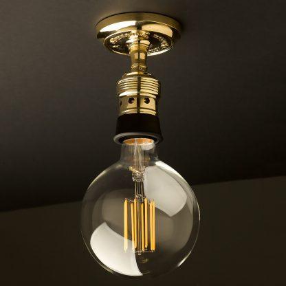Brass Batten Holder Edison E40 fitting G150
