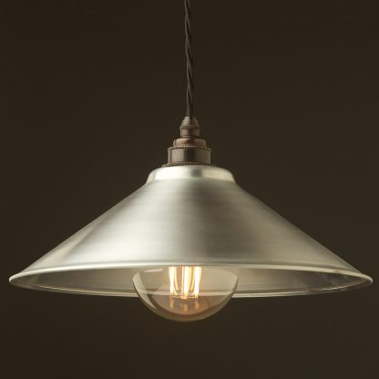 Galvanised steel light shade 310mm Pendant