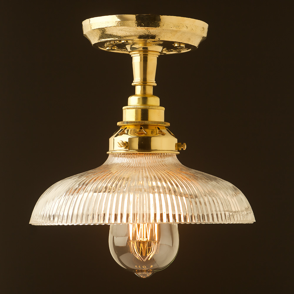Solid polished brass batten holder e27 new mozeypictures Images