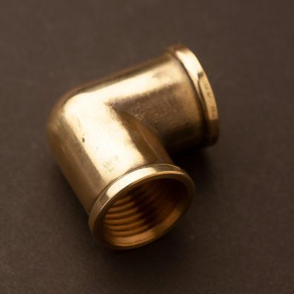 half inch plumbing pipe elbow brass