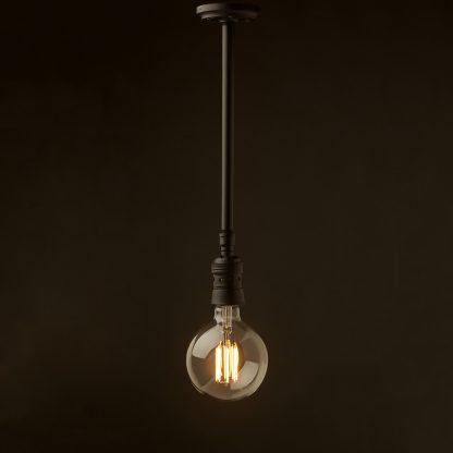 Plumbing pipe E40 fixed ceiling light G150 LED