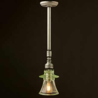 Plumbing pipe Russian Insulator ceiling light
