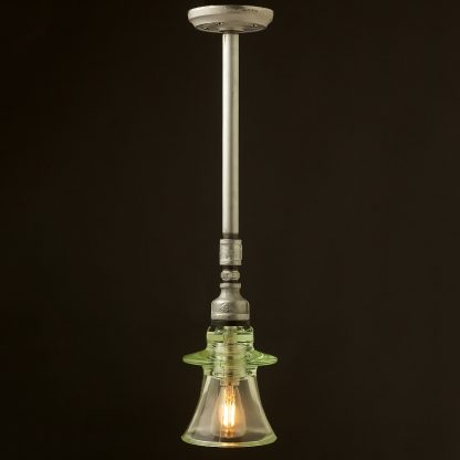 Plumbing pipe Russian Insulator ceiling light