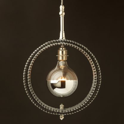Sirio Twin ring Ceiling Pendant