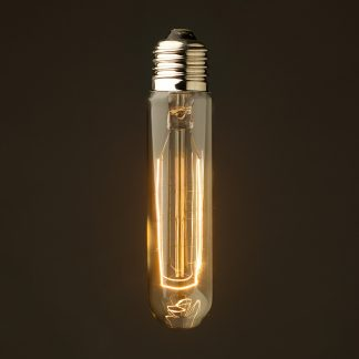 Vintage Edison 125mm Tube Filament Bulb E27