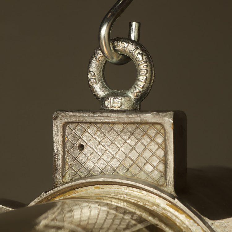 800 mm Vintage glass explosion proof cast aluminium light