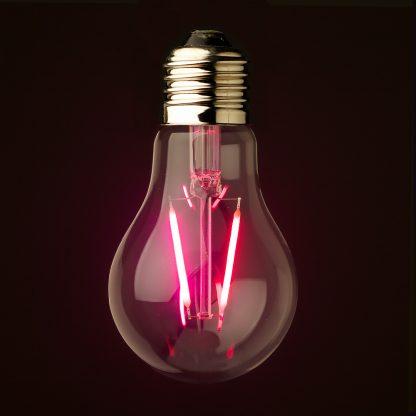 Transparent LED GLS Colored Festoon Bulb E27