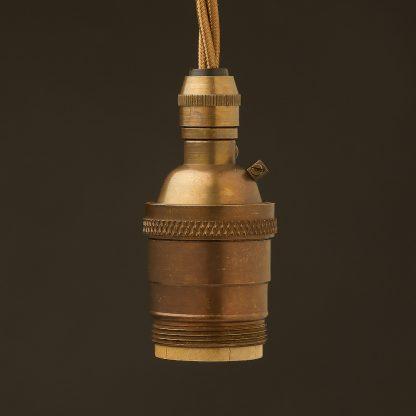 E26-antique-brass-pendant-cordgrip-socket-UNO-thread