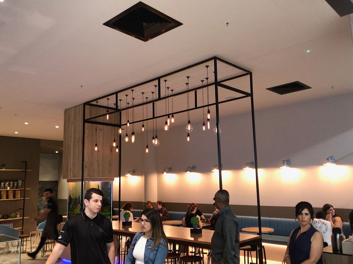 Hudson Coffee Lighting Fit-out