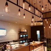 Hudson Coffee Lighting Design Fit-out