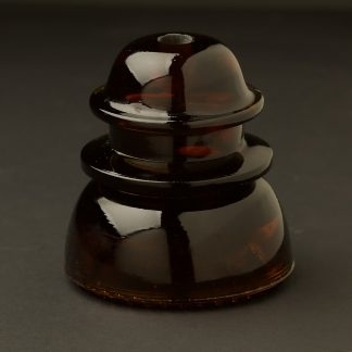 No 42 Hemingray repro amber insulator
