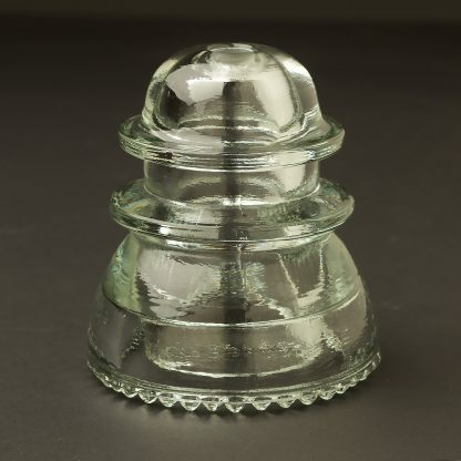 No 42 Hemingray repro clear insulator