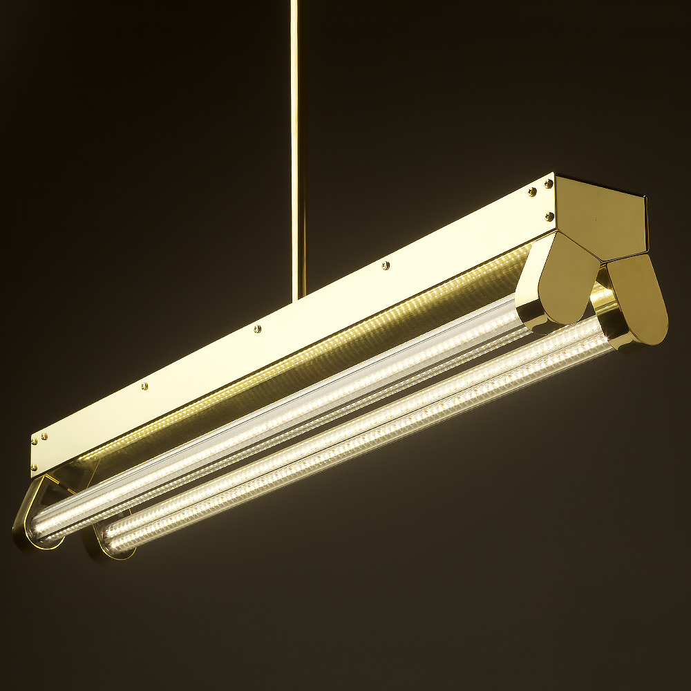 Strip Light Fixture That Can Hang With Jack Chain - Top -4744