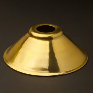 Solid brass light shade 190mm