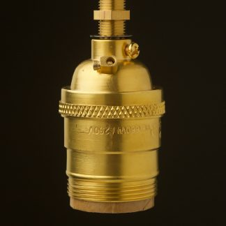 New brass E26 Socket UNO thread