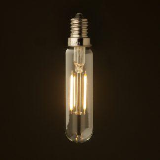 2 Watt LED E14 clear tube low voltage bulb