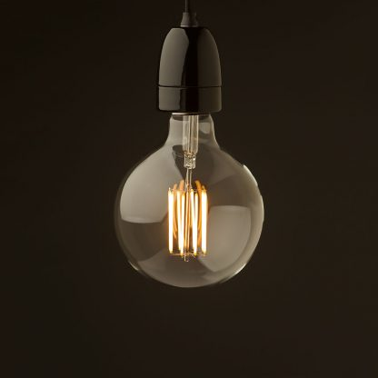 E40 Black porcelain pendant G150 LED
