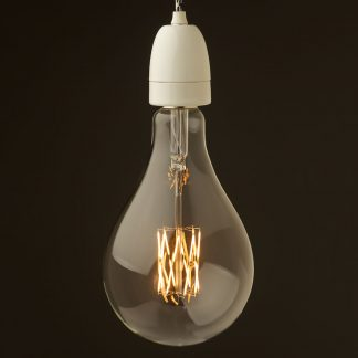 E40 White porcelain pendant A165 LED