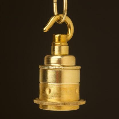 New Brass Chain Hook Lamp holder Edison E27 fitting
