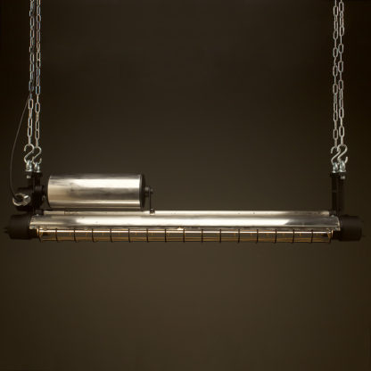 1300mm Vintage black explosion proof twin tube light