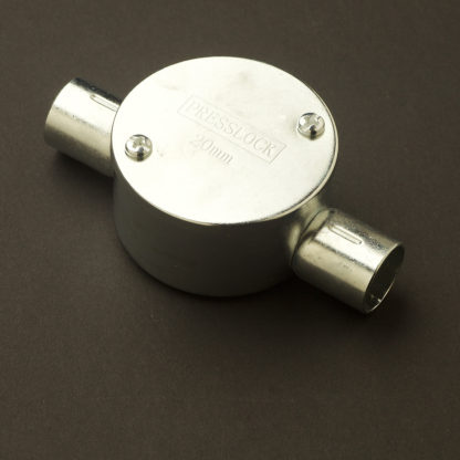 2 Way Angle 20mm Locfit Conduit Outlet Junction Box