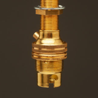 New Brass Threaded Entry Lamp holder Bayonet B15