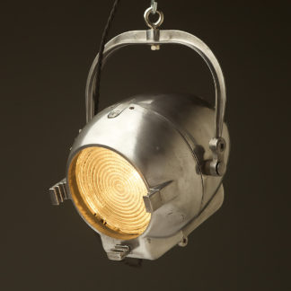 Vintage restored Strand Patt 123 Theater Spotlight