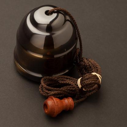 Florentine bronze pull switch