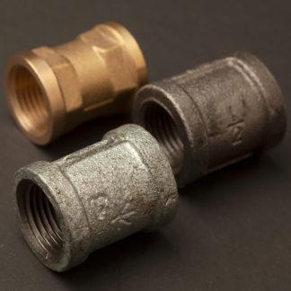 half inch plumbing pipe coupler