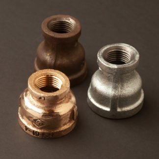 """1"""" inch to half inch plumbing pipe coupler"""
