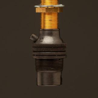 Bronze Threaded Entry Lamp holder Bayonet B15