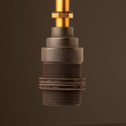 Shade ring Bronze lamp holder Edison E14