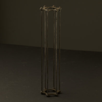 Long Bulb brass cage bronze